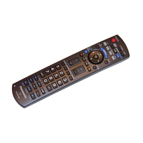 OEM Panasonic Remote Control Originally Shipped With: TH42PZ80Q, TH-42PZ80Q, TH50PZ80Q, TH-50PZ80Q