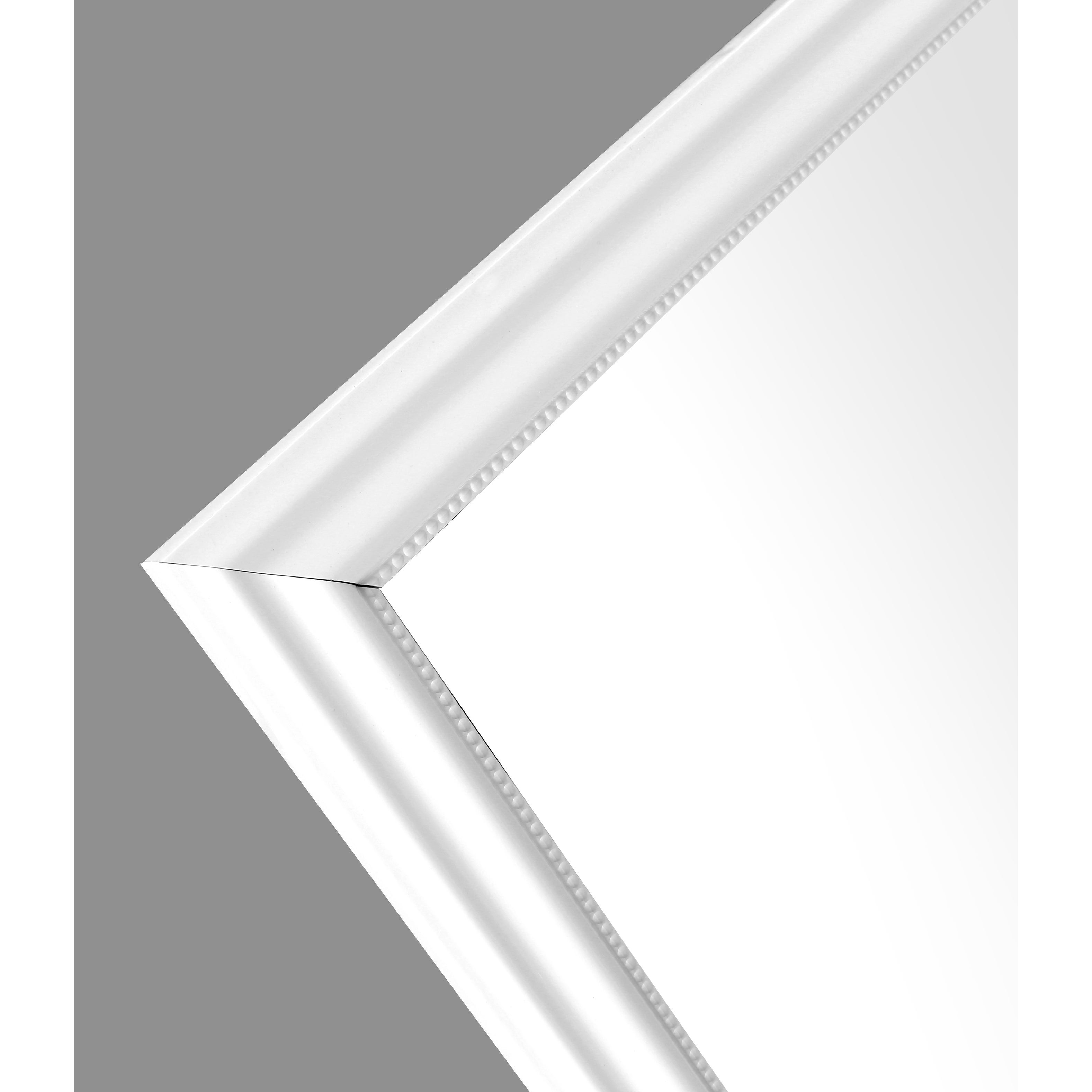 Shop 50x14 Inch White Framed Over The Door Mirror Full Length Hanging Wall Mirrors For Entryway Bedroom Rectangle Large Long Overstock 31893969
