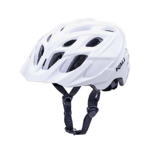 Kali Protectives Bike Helmet Chakra Solo (White, S/M)