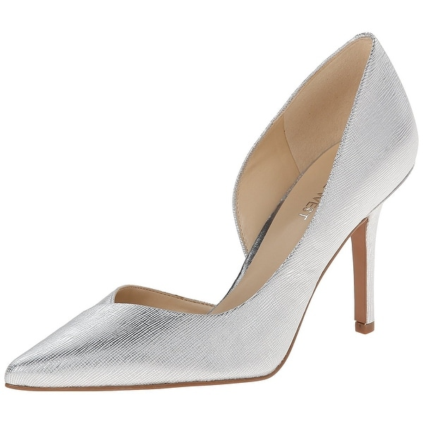 Nine West Womens JOWZER Pointed Toe D-orsay Pumps