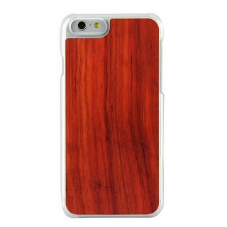 3D Knight Real Wood Protector Case for Apple iPhone 6 (Rose Wood/White Polycarbo