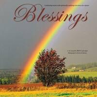 2019 Blessings 2019 Wall Calendar, Christian by Wyman Publishing