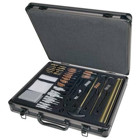 Vista 70090 outers 62 piece universal aluminum gun care case