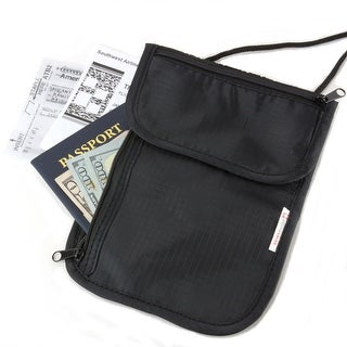 Link to Alpine Swiss Travel Wallets Neck Pouch Under Clothing Security Stash - One Size Similar Items in Travel Accessories