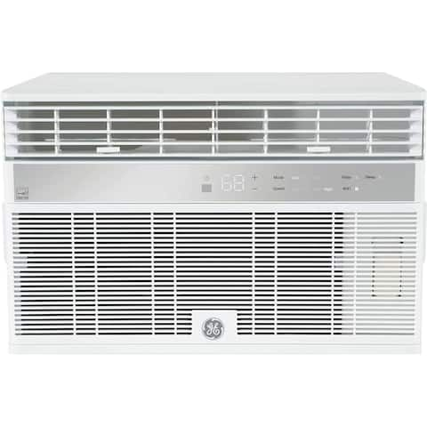 GE AHY08LZ Smart Window Air Conditioner with 8000 BTU Cooling Capacity, Wifi Connect, in White
