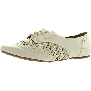 Not Rated Womens More Fun Oxford Flats Shoes