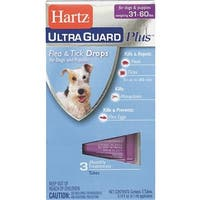 Hartz Mountain 31-60Lb Hug Pls F&T Drps 10872 Unit: EACH