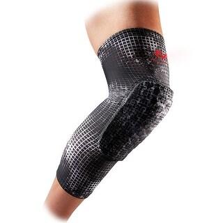 McDavid Hex Leg Sleeves (Pair, MGrid Black, Small)