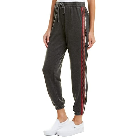 Betsey Johnson Zig Zag Boyfriend Sweatpant