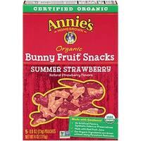 Annie's Homegrown - Summer Strawberry Fruit Snacks ( 12 - 4 OZ)