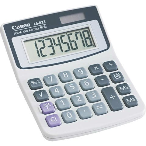 Canon LS82Z Minidesk Calculator LS82Z Minidesk Calculator