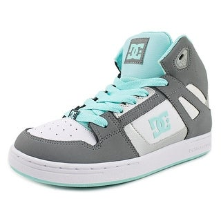 DC Shoes Rebound   Round Toe Leather  Skate Shoe