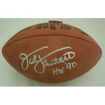 2d736b8ff7b Shop Jack Lambert Autographed Pittsburgh Steelers Authentic Rozelle Football  HOF JSA - Free Shipping Today - Overstock - 16797753