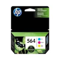 HP 564 Multi Color Original 3 Ink Cartridges (N9H57FN)(Single Pack)