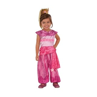 Girls Shimmer and Shine Genie Leah Costume