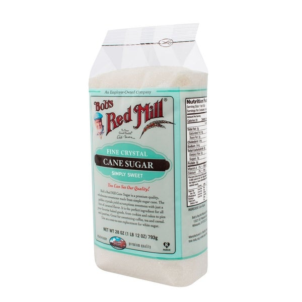 Bob's Red Mill Fine Cane Sugar - 28 oz - Case of 4