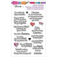 """Love Always - Stampendous Perfectly Clear Stamps 4""""X6"""""""