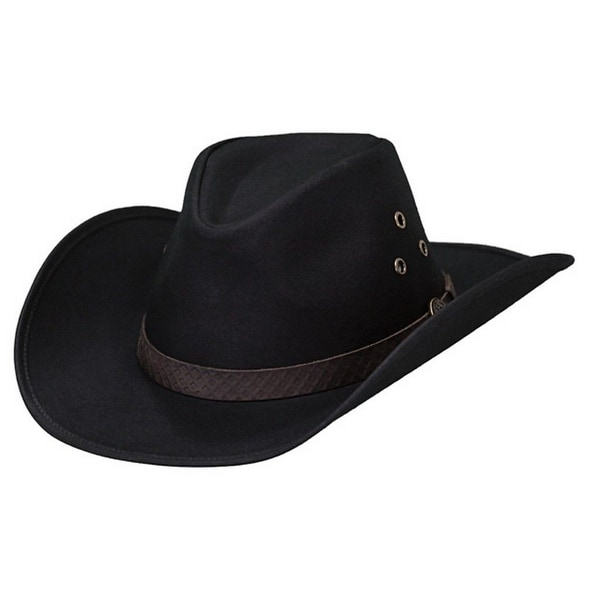 Outback Trading Hat Mens Trapper Oilskin Waterproof Curved Brim