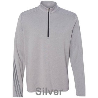 adidas - Golf Brushed Terry Heather Quarter-Zip Jacket