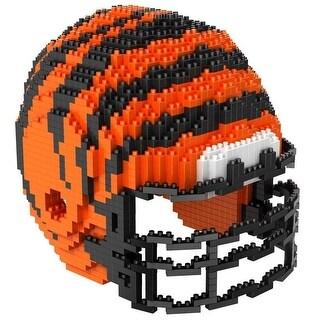 Cincinnati Bengals 3D NFL BRXLZ Bricks Puzzle Team Helmet
