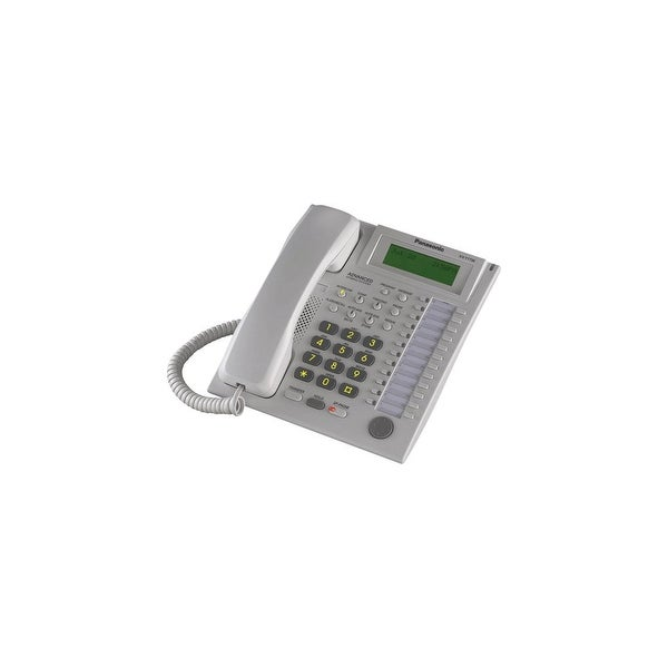 Refurbished Panasonic KX-T7736W-R Speakerphone Telephone With LCD