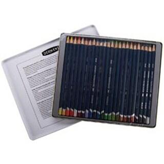 Derwent Watercolor Pencil Tin 24/Pkg-