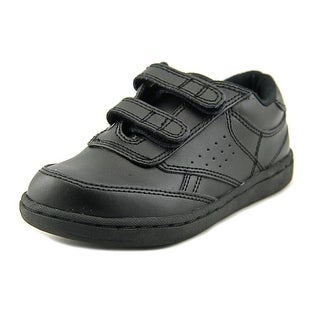 Academie Gear Vinny Youth W Round Toe Leather Black Sneakers
