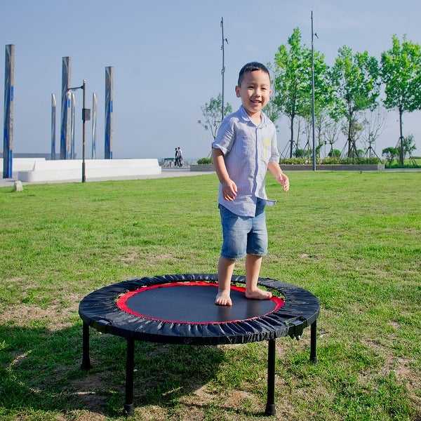 40 Inch Mini Exercise Trampoline for Adults or Kids. Opens flyout.
