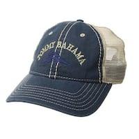 Tommy Bahama Mens Mesh Blue/Khaki Ball Hat Cap