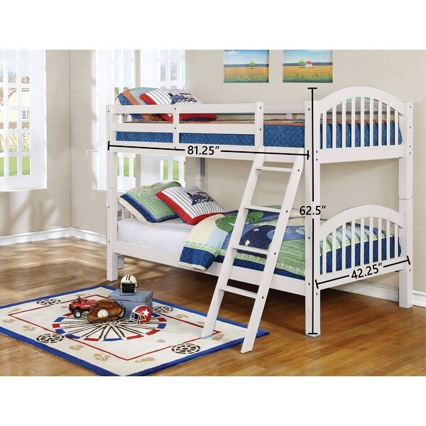 Dianna Convertible Twin over Twin Bunk Bed. Opens flyout.