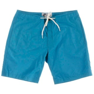 Trunks Mens Mesh Lining /Snap Close Swim Trunks