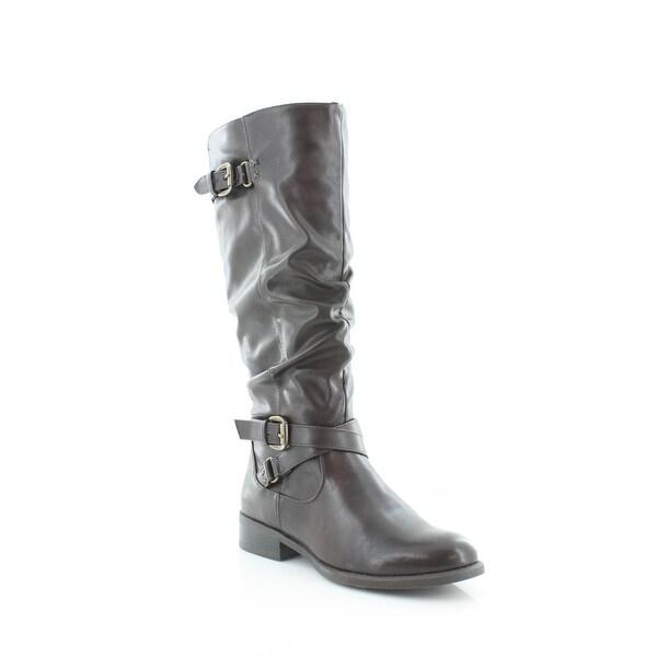 White Mountain Latara Women's Boots Brown Smooth - 7