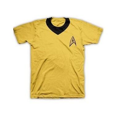 Hybrid Promotions Llc Men's Star Trek Captain Kirk Costume T-Shirt