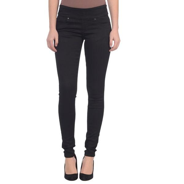 Lola Pull On Skinny Jeans, Anna-BLK