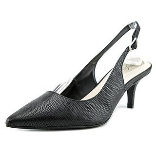 Alfani Babbsy Women Pointed Toe Synthetic Slingback Heel
