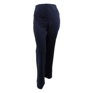 Inc International Concepts Women's Plus Ponte Bootcut Pants (20W Deep Twilight) - deep twilight - 20W