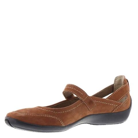 ARRAY Womens Julia Leather Closed Toe Mary Jane Flats