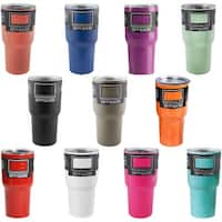 SIC Cups 30 oz. Glacier Stainless Steel Double Insulated Tumbler Bottle