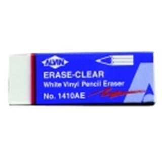 Alvin Vinyl Pencil Eraser - White