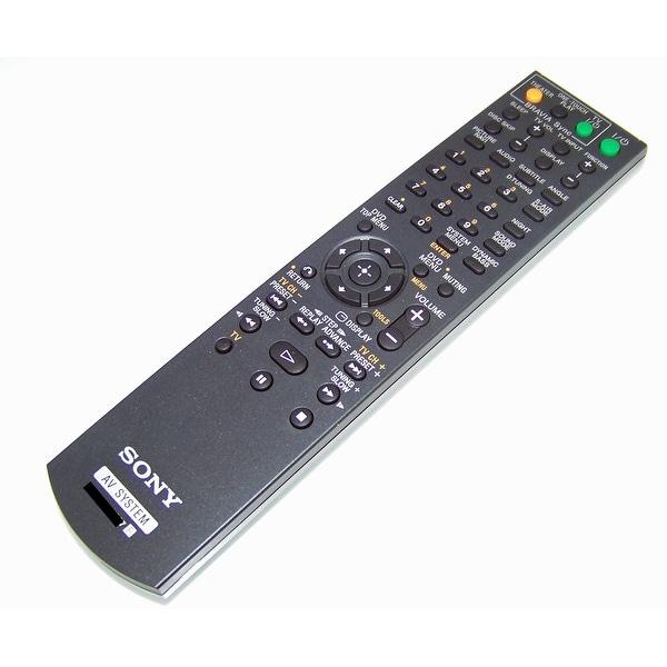 OEM Sony Remote Control Originally Shipped With: HCDHDZ278, HCD-HDZ278, HCDHDX277, HCD-HDX277, DAVHDX277WC, DAV-HDX277WC