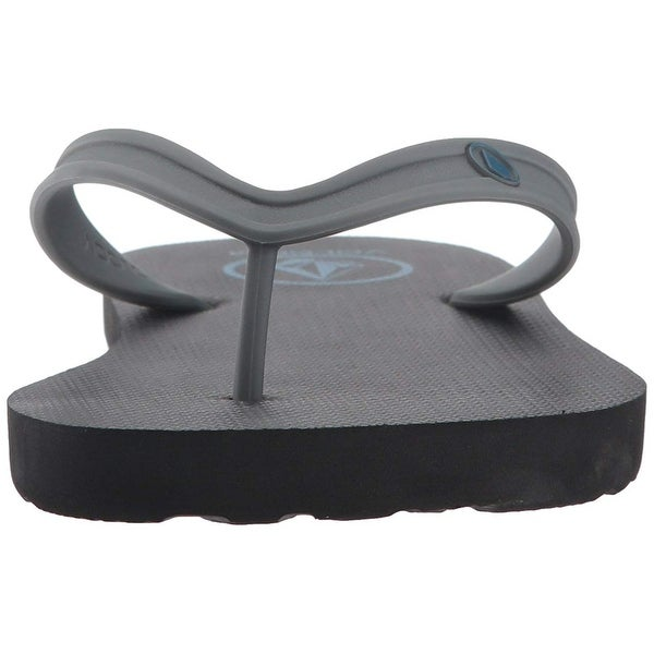 8806574f75230b Shop Volcom Men s Rocker 2 Solid Sandal FLIP Flop - Free Shipping On Orders  Over  45 - Overstock - 27099570