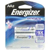 Energizer e2 Lithium Batteries AA 2 ea