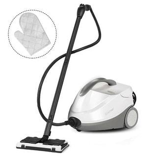 Costway Heavy Duty Steam Cleaner Mop Multi-Purpose Steam Cleaning 4.5 Bar 2000Watt 1.5L - Modern & Contemporary