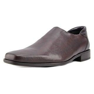 Donald J Pliner Rex Men  Square Toe Leather  Loafer