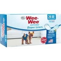 Wee Wee Diaper Garment Pads