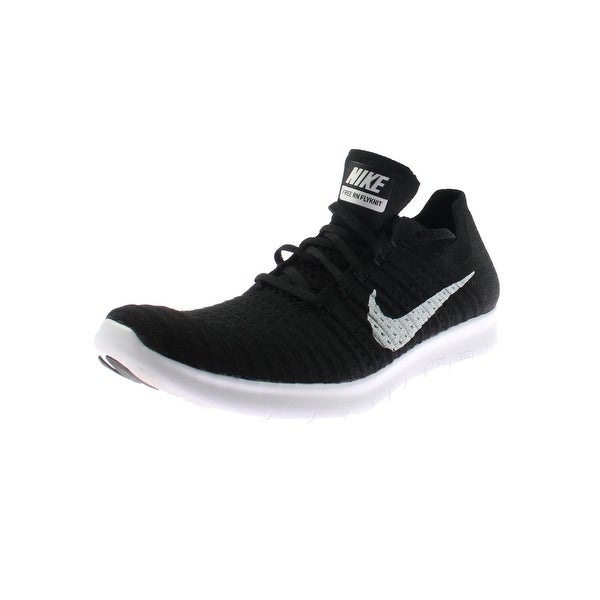 84476a6a5bb5 Shop Nike Mens Free RN Flyknit Running Shoes Run Natural Flexible ...