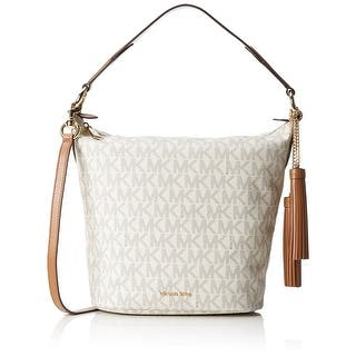 69dc805460 MICHAEL Michael Kors Sloan Editor Small Leather Shoulder Bag  Aluminum Pewter Pale Grey · Quick View