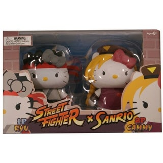 Hello Kitty Street Fighter 2 Figure Pack Ryu & Cammy
