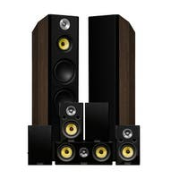 Fluance Signature Series Surround Sound Home Theater 7.0 Channel System - Walnut (HF70WR)