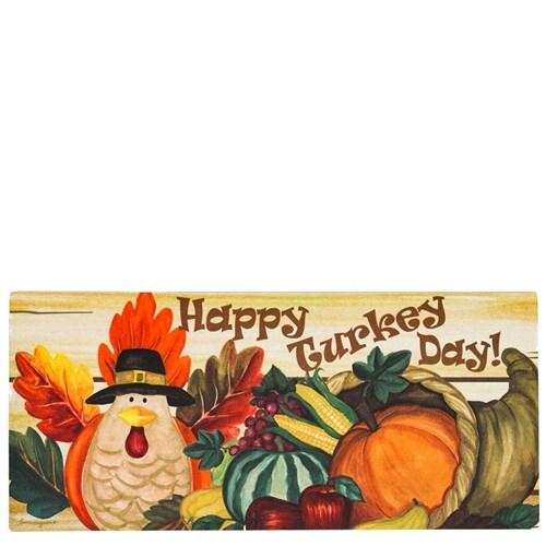 Happy Turkey Day Switch Mat